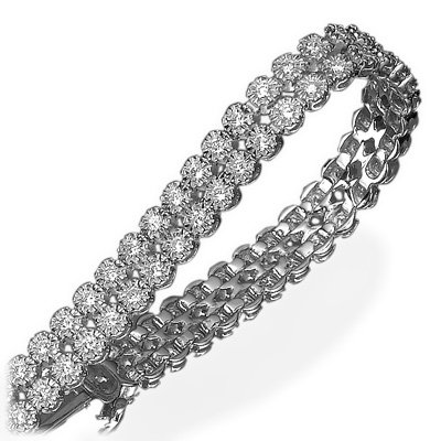 two_rows_diamond_bracelet2_1064_detail